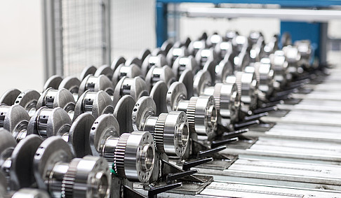 (Crankshaft-) Production in Cologne
